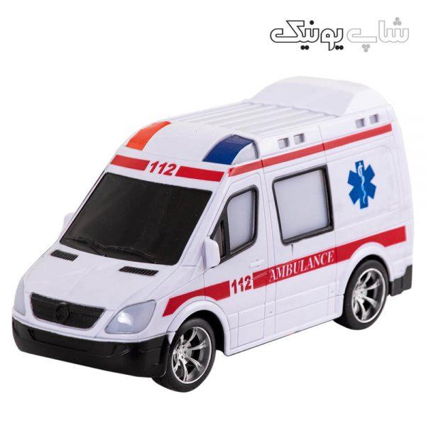 ماشین کنترلی طرح آمبولانس