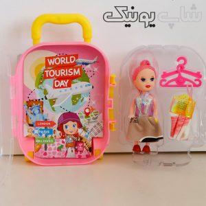اسباب بازی دخترانه طرح چمدان