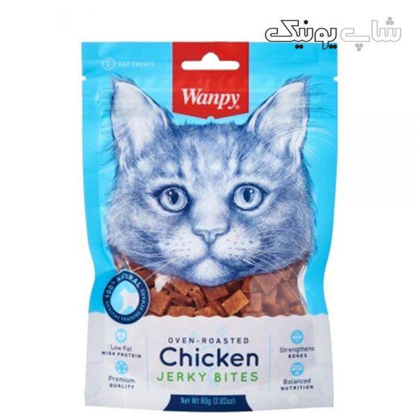 تشویقی گربه ونپی طعم مرغ