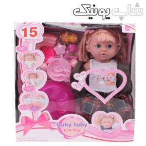 بسته بندی عروسک باربی 15 کاره بیبی توبی