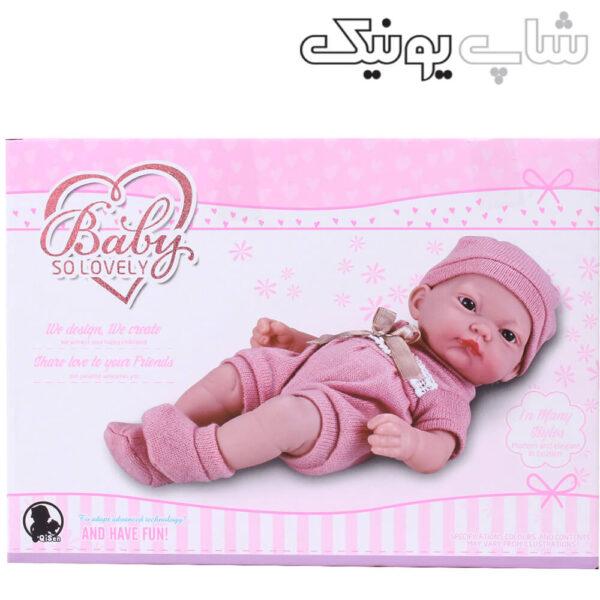 بسته بندی عروسک نوزاد مدل لاولی