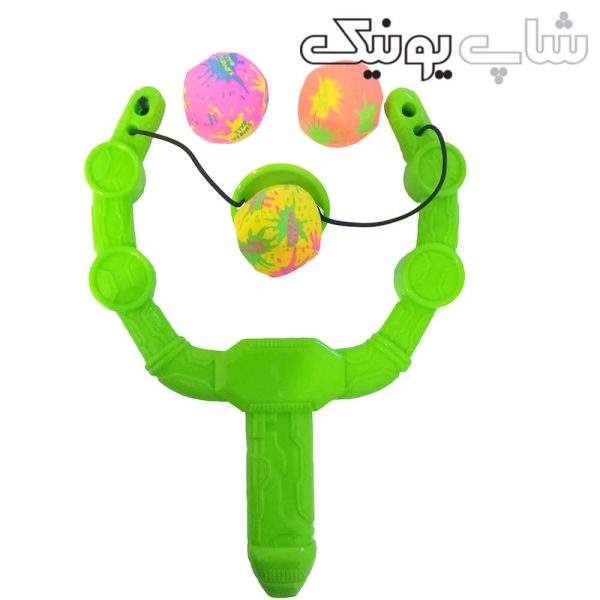 تیر و کمان اسباب بازی مدل توپ تیر انداز