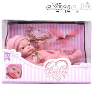 جعبه عروسک نوزاد مدل لاولی