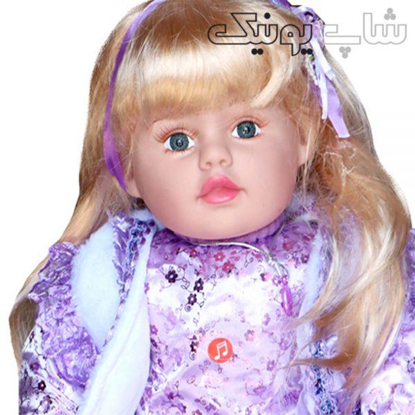 عروسک دخترانه موزیکال مو بلند از نزدیک