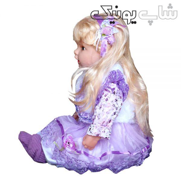عروسک دخترانه موزیکال مو بلند