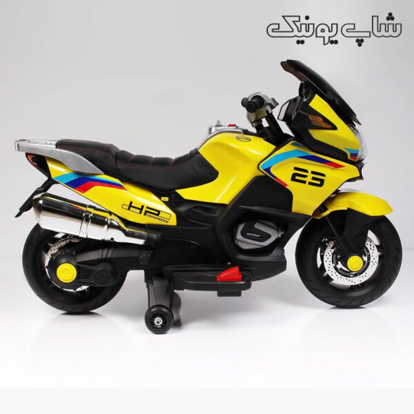 موتور شارژی xmx-609 رنگ زرد -
