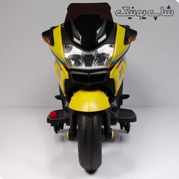موتور شارژی xmx-609 رنگ زرد